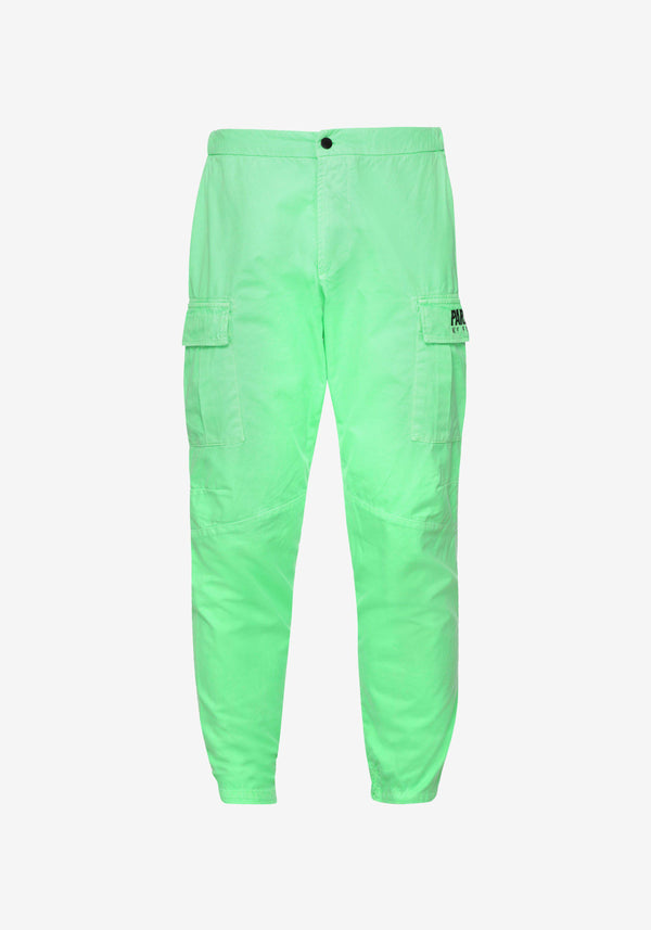 Pantalones cargo Pardon My French Verde llamativoPARDON MY FRENCH