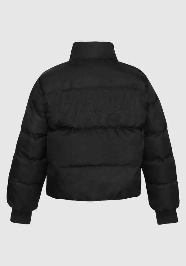 VESTE EN DUVET PARDON MY FRENCH NOIRE