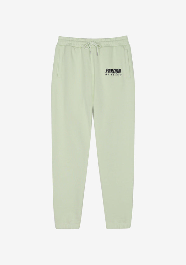 Pantalones Pardon My French Nuevo logo Pastel Green-PARDON MY FRENCH