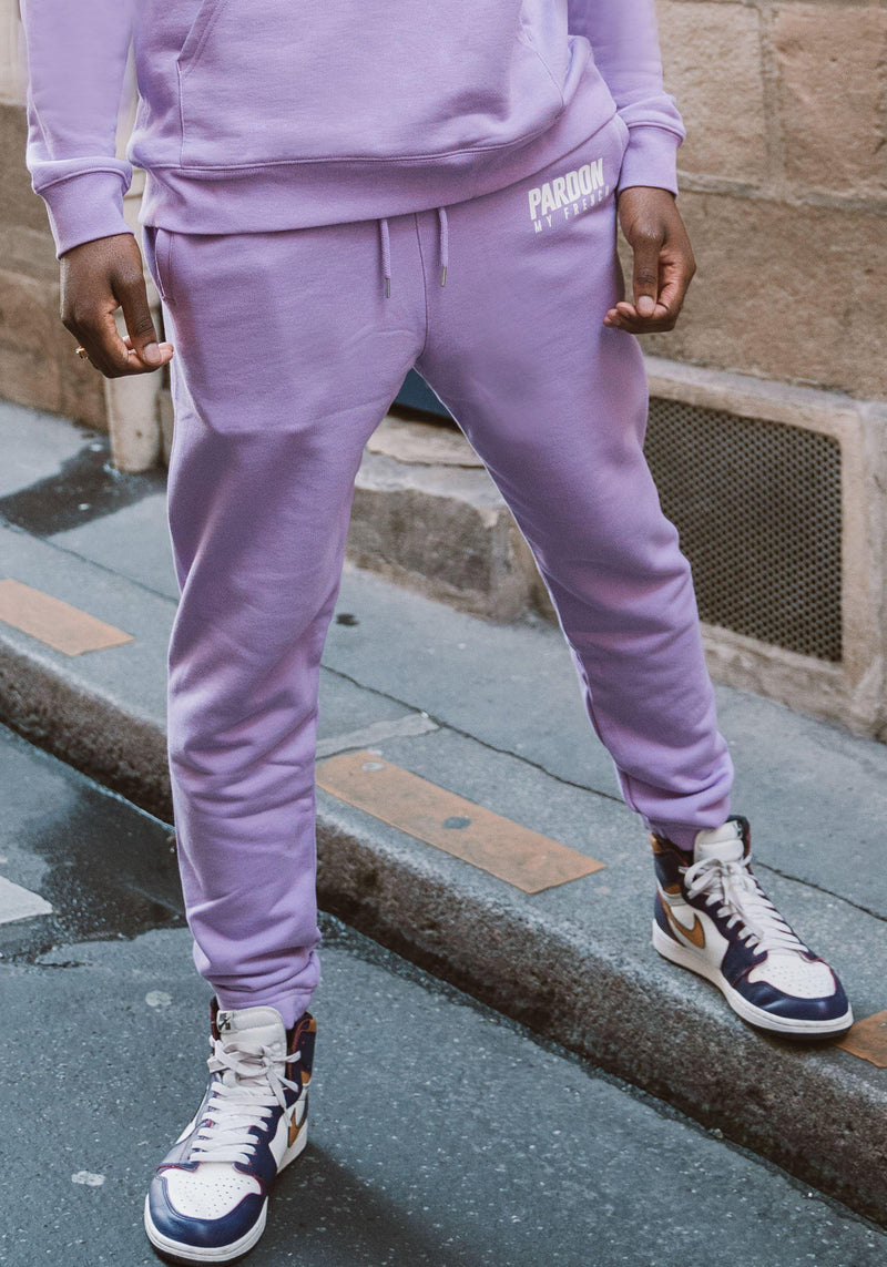 Pantalon Pardon My French New Logo Violet Pastel-PARDON MY FRENCH