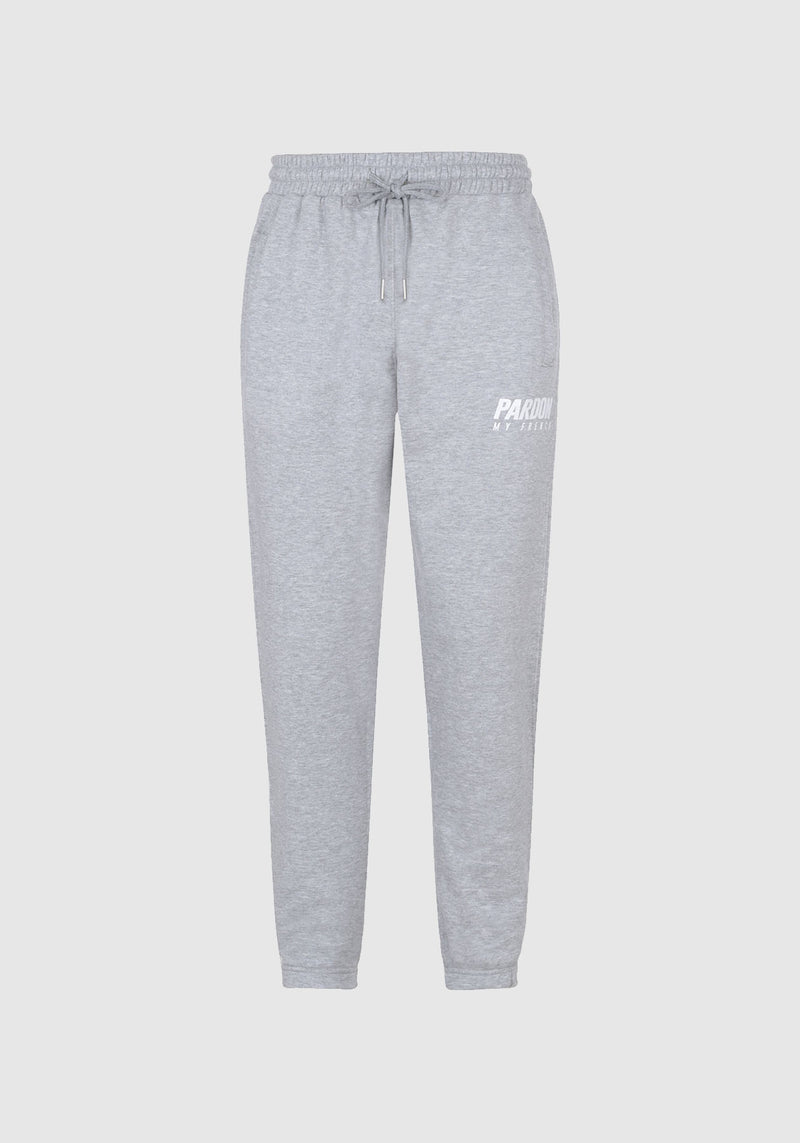 PANTALON PARDON MY FRENCH GRIS NEW LOGO