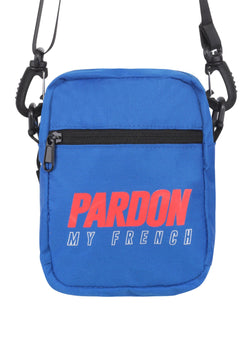 Sacoche Pardon My French New Logo Bleu & Rouge