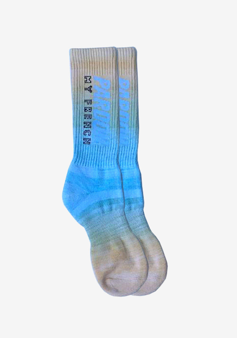 Socken Pardon My French Tie Dye - Edition # 6-PARDON MY FRENCH