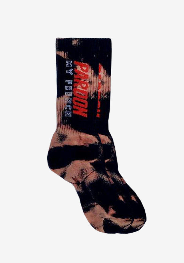 Socken Pardon My French Tie Dye - Edition # 2-PARDON MY FRENCH