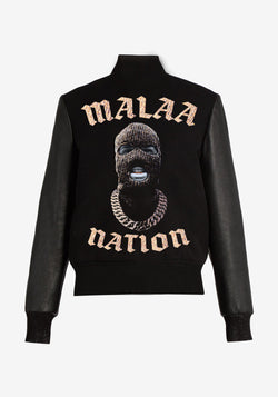 Cappotto Teddy Malaa Nation Bling Bling Edition-PARDON MY FRENCH