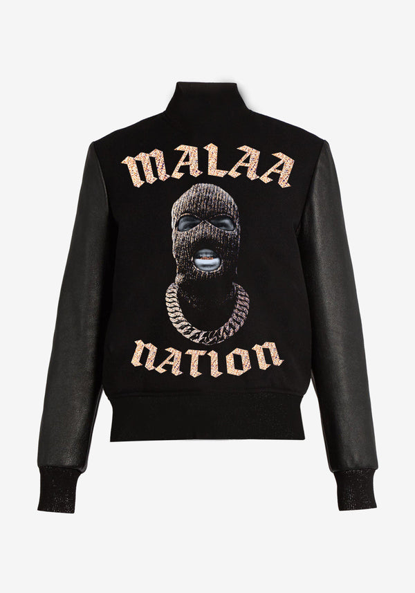Teddy Malaa Nation Bling Bling Edition Mantel-PARDON MY FRENCH