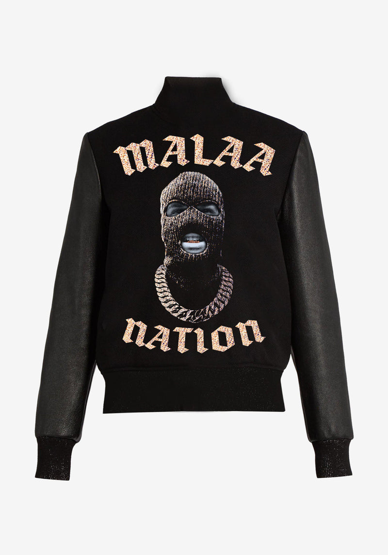 Manteau Teddy Malaa Nation Bling Bling Edition-PARDON MY FRENCH