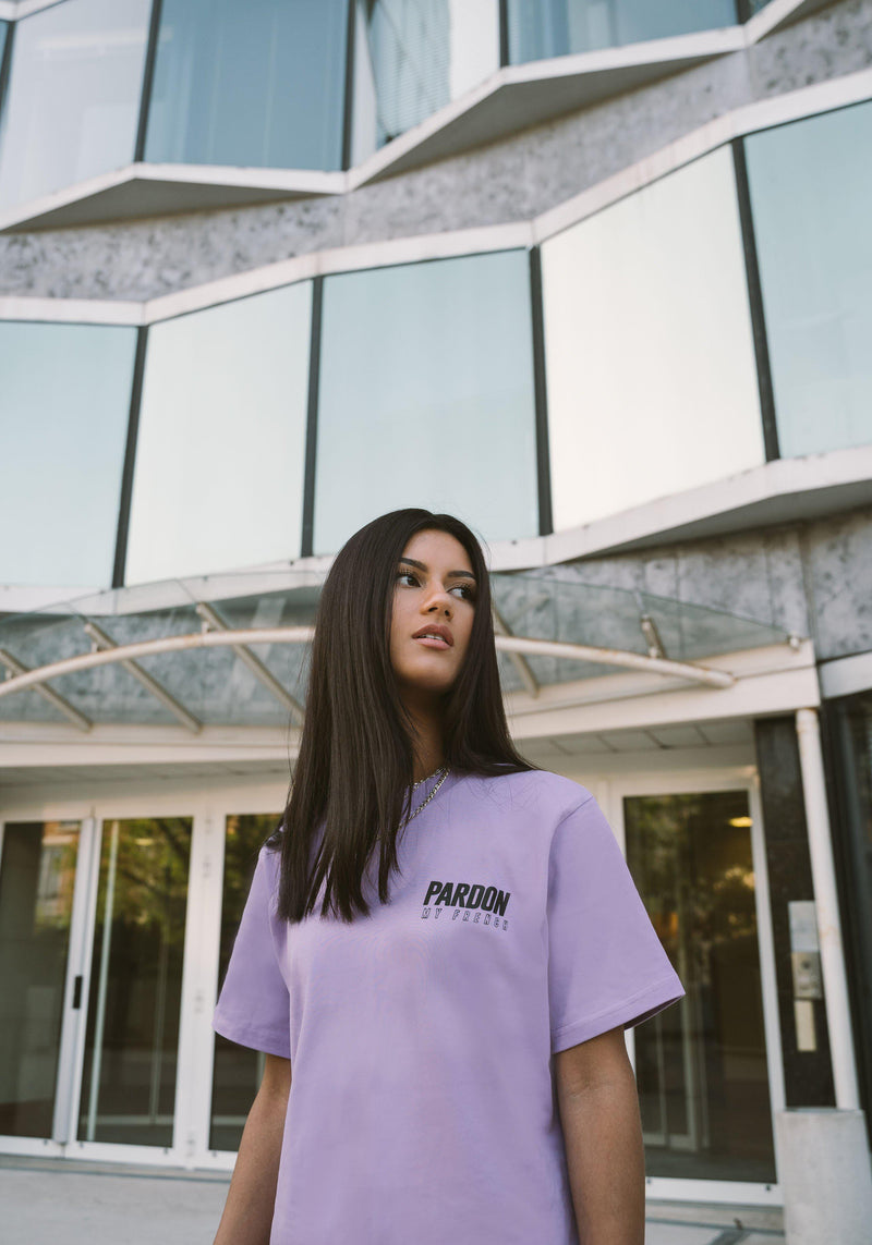TSHIRT PARDON MY FRENCH NEW LOGO VIOLET PASTEL-PARDON MY FRENCH
