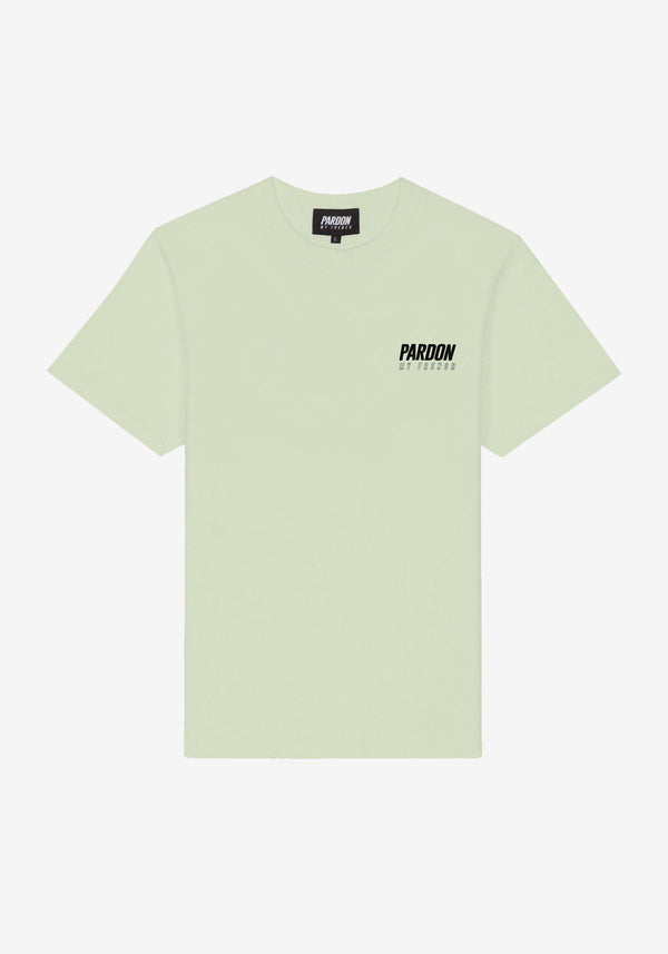 TSHIRT PARDON MY FRENCH NEW LOGO VERT PASTEL-PARDON MY FRENCH