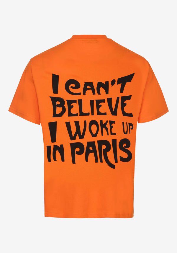 Tshirt All Access Orange Paris Edition Collector-PARDON MY FRENCH