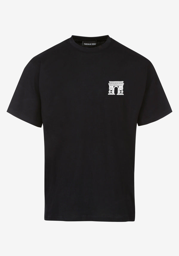 Tshirt Noir EDITION COLLECTOR PARIS 22.02