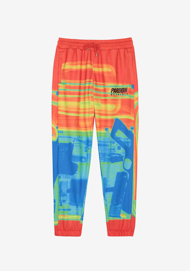 Pantalon Pardon My French X RAY Gun Orange-PARDON MY FRENCH