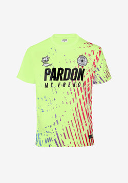 MAILLOT PARDON MY FRENCH THIRD  2020 VERT PASTEL