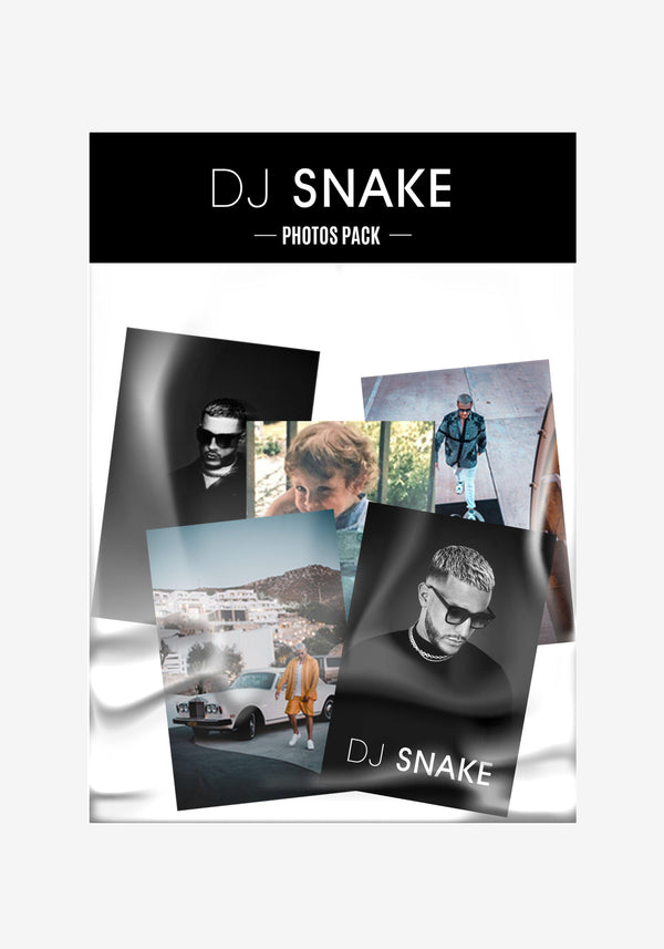 DJ SNAKE Photos pack-PARDON MY FRENCH