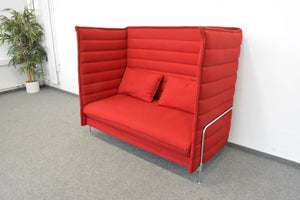 Vitra Alcove Highback Two-Seater Lounge-Sessel