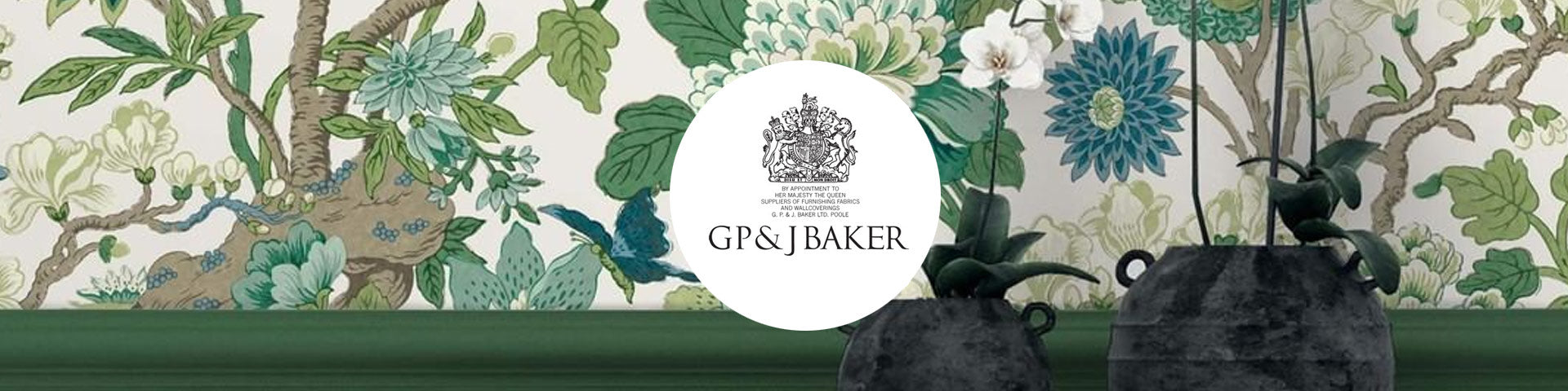 GP&J Baker behang wallpaper