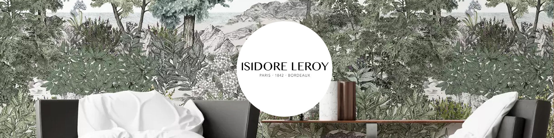 Isidore Leroy wallpaper behang