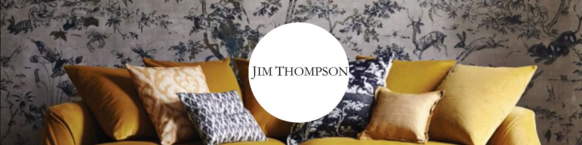 Jim Thompson behang I Selected Wallpapers