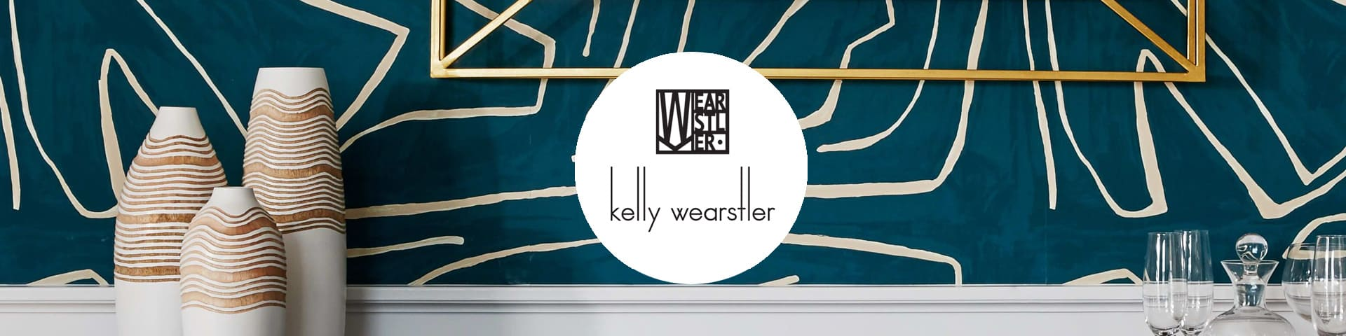 Kelly Wearstler behang I Selected Wallpapers