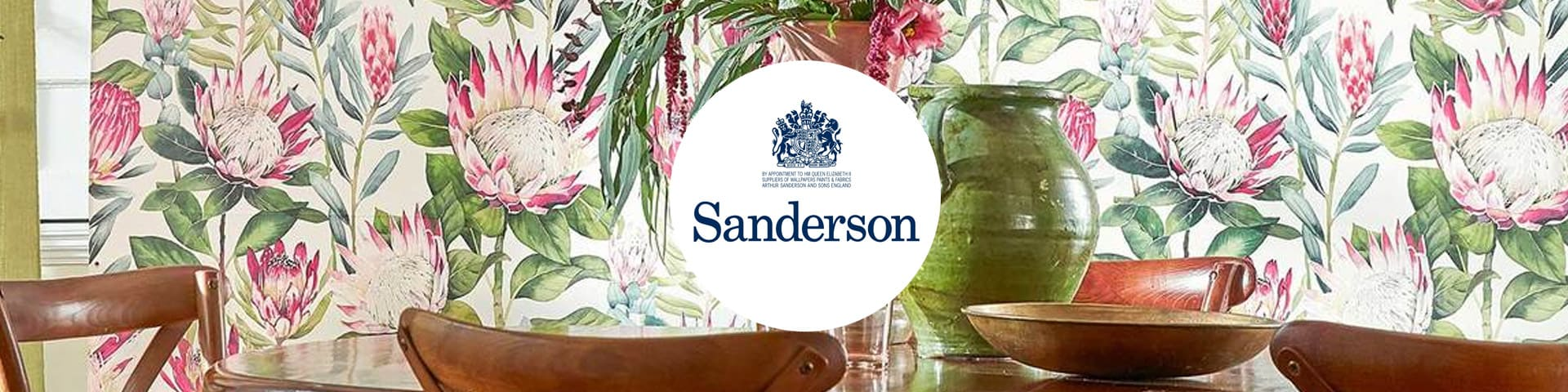 Sanderson behang I Selected Wallpapers