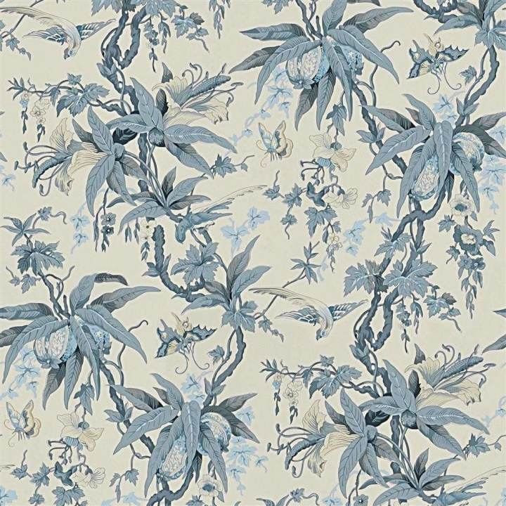 Mary Day Botanical Slate behang Ralph Lauren Selected wallpapers by OOSTENDORP