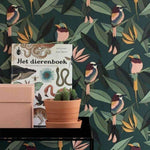 Vogel behang Behang Studio Ditte Selected wallpapers by OOSTENDORP