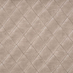 Vinyl Crocodile Clutch Textured Taupe behang Phillip Jeffries Selected wallpapers by OOSTENDORP