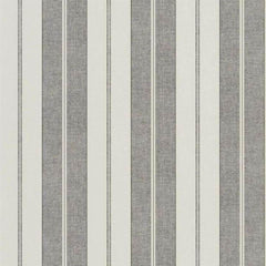 Monteagle Stripe Slate Behang Ralph Lauren Selected wallpapers by OOSTENDORP