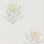 Protea Flower Natural behang Sanderson Selected wallpapers by OOSTENDORP