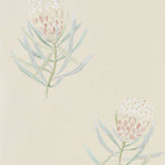 Protea Flower Russet/Green behang Sanderson Selected wallpapers by OOSTENDORP