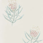 Protea Flower Procelain/Blush behang Sanderson Selected wallpapers by OOSTENDORP