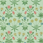 Daisy Green/Rose behang Morris & Co Selected wallpapers by OOSTENDORP