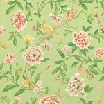 Porcelain Garden Rose/Fennel behang Sanderson Selected wallpapers by OOSTENDORP