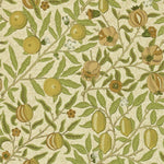 Fruit Lime Green/Tan behang Morris & Co Selected wallpapers by OOSTENDORP