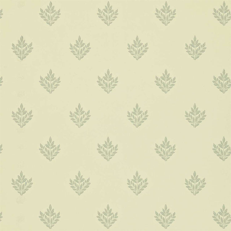 Pearwood Ivory/Slate behang Morris & Co Selected wallpapers by OOSTENDORP