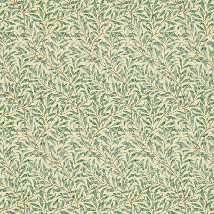 Willow Boughs Minor Privet behang Morris & Co Selected wallpapers by OOSTENDORP