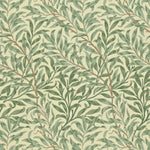 Willow Boughs Green behang Morris & Co Selected wallpapers by OOSTENDORP