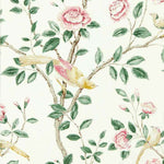 Andhara Rose/Cream behang Sanderson Selected wallpapers by OOSTENDORP