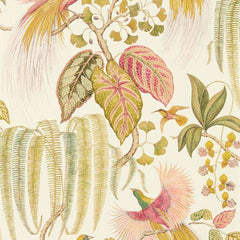 Bird of Paradise Olive behang Sanderson Selected wallpapers by OOSTENDORP