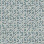 Rosehip Mineral Blue behang Morris & Co Selected wallpapers by OOSTENDORP