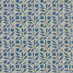 Rosehip Indigo behang Morris & Co Selected wallpapers by OOSTENDORP