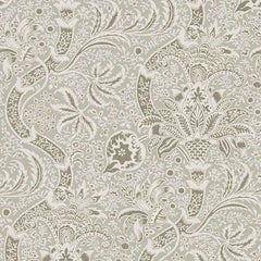 Indian Grey/Pewter behang Morris & Co Selected wallpapers by OOSTENDORP