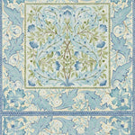 Wilhelmina Indigo behang Morris & Co Selected wallpapers by OOSTENDORP