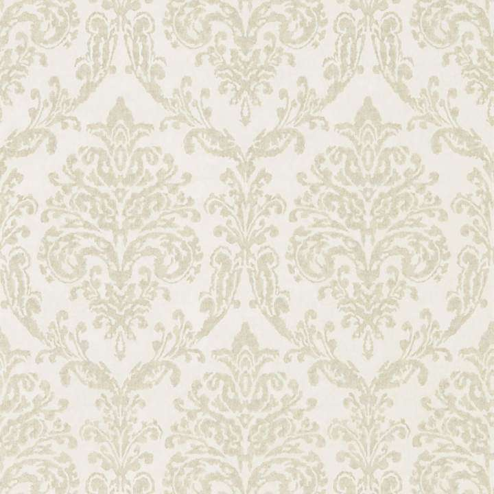 Riverside Damask Oyster/Pearl behang Sanderson Selected wallpapers by OOSTENDORP