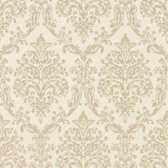 Riverside Damask Dove/Silver behang Sanderson Selected wallpapers by OOSTENDORP