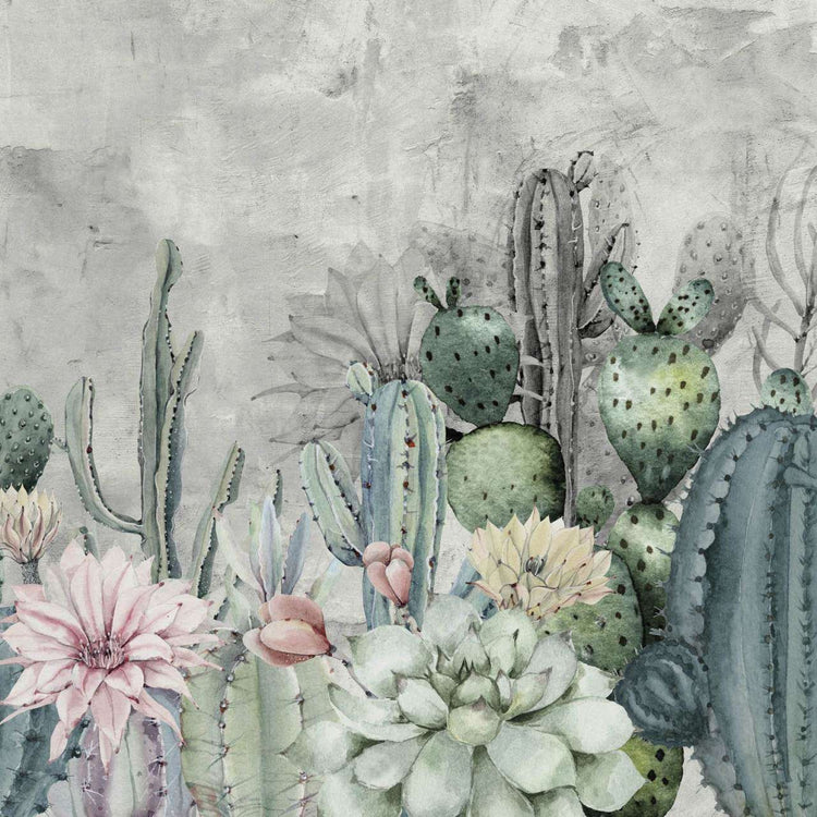Cereus 1 behang Inkiostro Bianco Selected wallpapers by OOSTENDORP