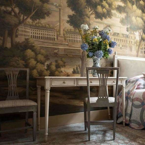 Monuments of Paris Roberts behang De Gournay Selected wallpapers by OOSTENDORP