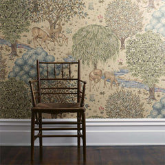The Brook behang Morris & Co Selected wallpapers by OOSTENDORP