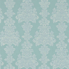 Katarina Aqua behang Zoffany Selected wallpapers by OOSTENDORP