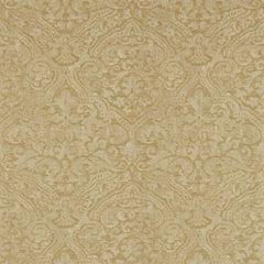 Renaissance Damask Warm Gold behang Zoffany Selected wallpapers by OOSTENDORP